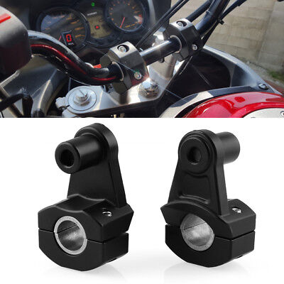 """Motorcycle HandleBar Handle Fat Bar Mount Clamps Riser For 7/8'' 22MM 1/8"""" 28MM"""
