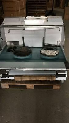 "2 Compartment Chinese Wok Range 48"" long"