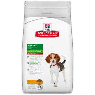 Hill's Science Plan Puppy Healthy Development Medium Breed Chicken Dog Food