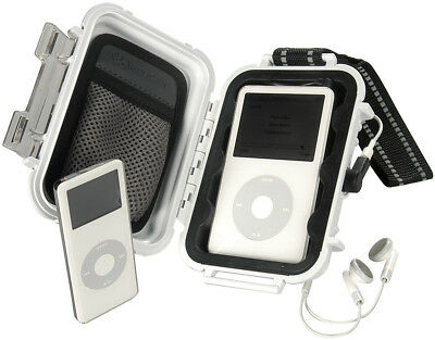 Pelican i1010 iPod Case Camera Electronics White i1010 Kayak Waterproof
