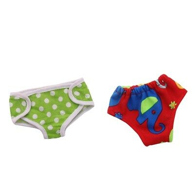 "Cotton Underwear Underpants Clothes for 18"" American Girl 43cm Baby Dolls"