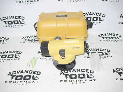 Topcon AT-B3 28x Autolevel Automatic Auto Level Transit w/ Carrying Case