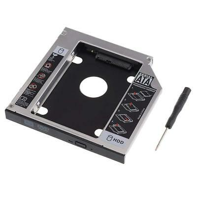 Universal 12.7 mm SATA 2nd SSD HDD Hard Drive Caddy for DVD-ROM CD Optical Bay