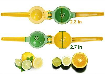 Lemon Squeezer Premium Quality Metal Lime Juicer Manual Citrus Press Hand Tool