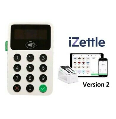 iZettle Chip and Pin 2 Card Reader - Latest Edition - Brand New SEALED
