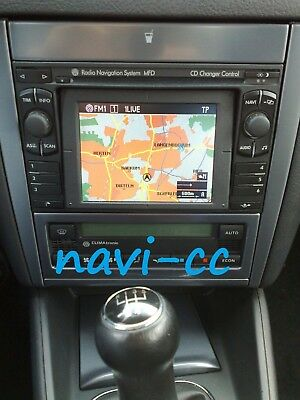2014 VW Volkswagen Radio Navigation System MFD (CD Germany) (Blaupunkt DX) Final