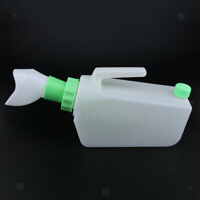 Reusable Spill Proof Female Bed Pee Urinal Bottle Emergency Urine Bag Senior