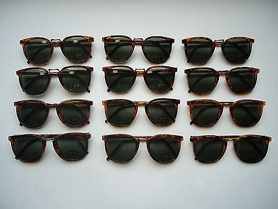 (Lot of 12) Retro Style FASHION SUNGLASSES for CHILDREN new 100% UV PROTECTION