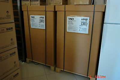 Pair TAD REFERENCE ONE TAD-R1 MK2 Speakers **Brand New***