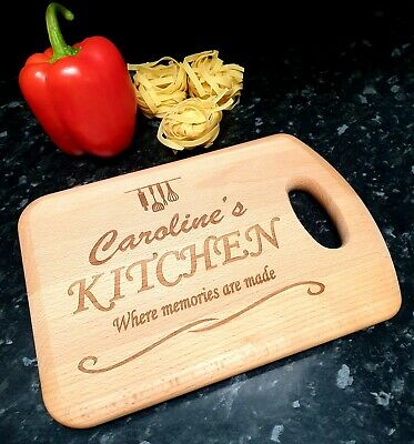 Personalised Wooden Chopping Board, Cutting Board,Any Name, Mothers Day Gift