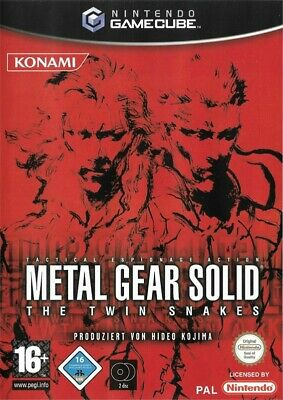 Nintendo GameCube Spiel - Metal Gear Solid: The Twin Snakes mit OVP