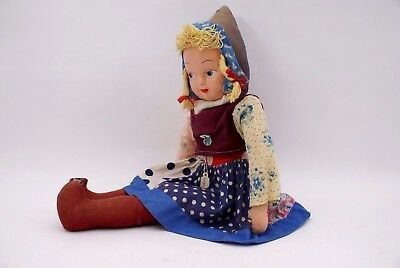 VINTAGE HUNGARIAN RAG DOLL from HUNGRY over 60 years old