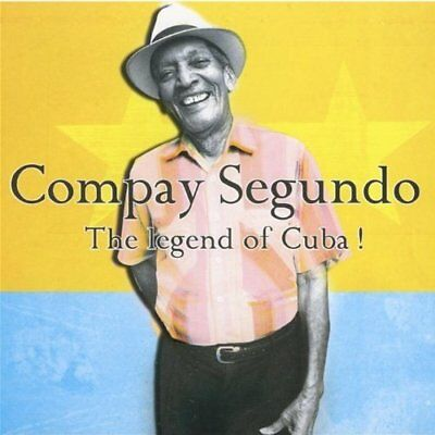 COMPAY SEGUNDO-The Legend Of Cuba CD NEW