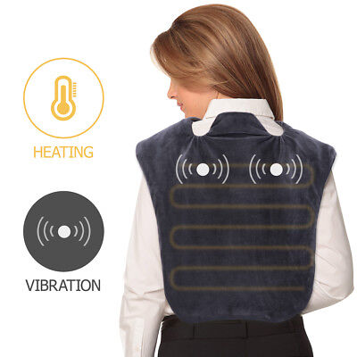 ROSENICE Neck Shoulder Wrap Muscles Pain Relief Pad Household Body Massager AU