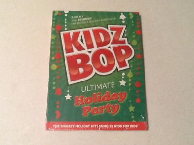 Kidz Bop Ultimate Holiday Party 2 Cd Set With 40 Songs CD NEU