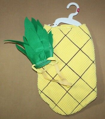 NEW PINEAPPLE Dog Pet Halloween Costume Size M