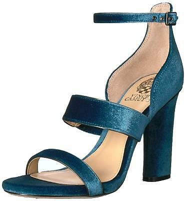 f8183d6b029e VINCE CAMUTO WOMENS Jacon Leather Open Toe Casual Ankle Strap ...