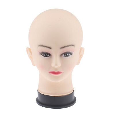 Mannequin Head Female Cosmetology Wig Hat Necklace Display Holder Manikin