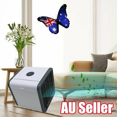 Portable Mini Air Conditioner Cool Cooling For Bedroom Arctic Air Cooler Fan QQ