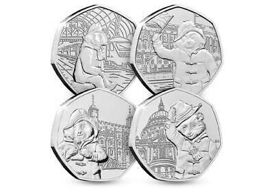Uncirculated 2018 Paddington Bear at the palace 50p Fifty Pence coin Collectible