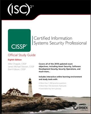 CISSP Official Study Guide 8th edition (PDF)