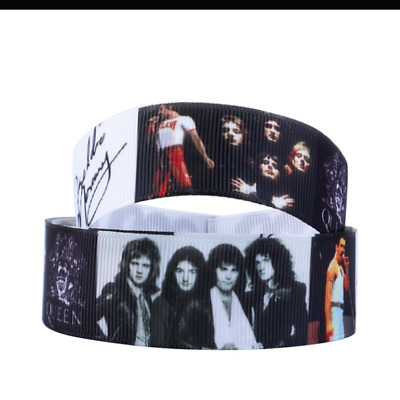Queen Band Freddie Mercury Ribbon 1m long