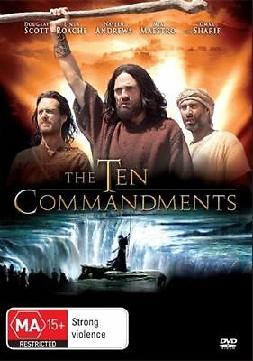 The Ten Commandments (DVD, 2008) New DVD Region 4 Sealed