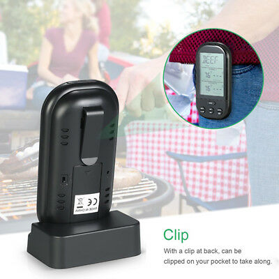 Thermometer Oven Tool Waterproof Remote BBQ Meat Kitchen Wireless Grill Fashion