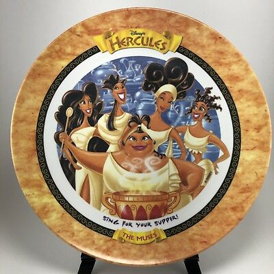 1997 Disney Hercules McDonalds The Muses Melamine Collector Plate BRAND NEW