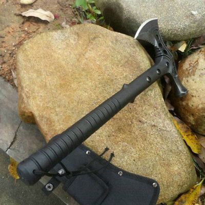 1887 Black Jungle Survival Axe Tactical Package Outdoors Camp Travel
