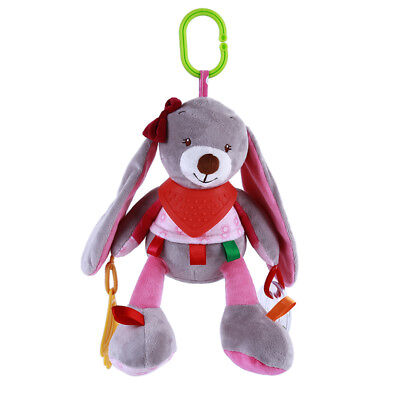 Multi-function Bed Hanging Doll Animal Jingle Doll Stroller Hanging Plush Toy
