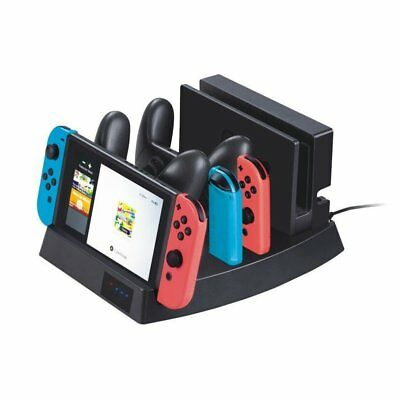 Multifunctional Charger Charging Dock Station Stand Holder For Switch Console rb