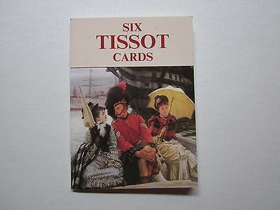 Six ( James ) Tissot - ( Art )  Cards - Postcards