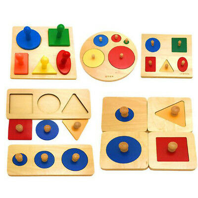 Children's Toys Children's Learning Tree Geometric Shape Panels Early Education