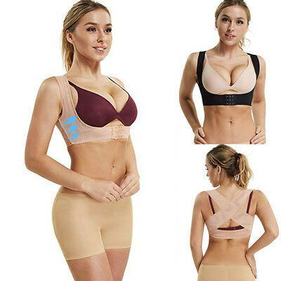 5ef083feaa7e5 Women Lady Bust Push Up Body Shaper Bra  Back Support Posture Corrector Band