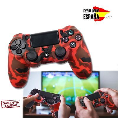 Funda Ps4 Carcasa Silicona Para Mando Sony Playstation Dualshock 4 Colores