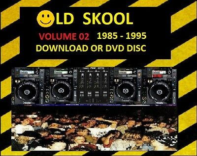 OLD SKOOL VOLUME 02 -DOWNLOAD Today- Piano House Techno DJ Collection MP3 Music