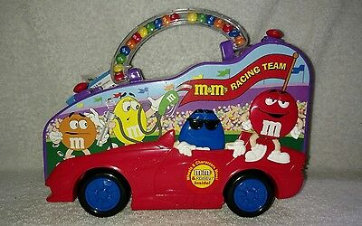 M&M's Racing Team Plastic Candy Case CAR