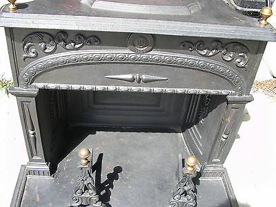 Antique Cast Iron Fireplace Circa 1840-1860 LOCAL PICK UP ONLY!