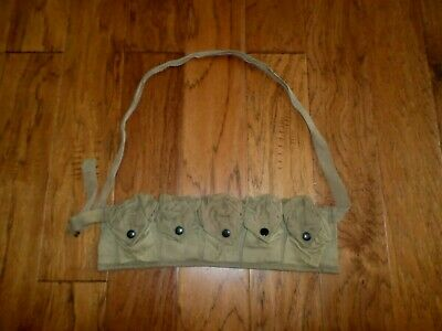 Wwii U.s Military M-1 Garand Bandoleer Original Surplus.