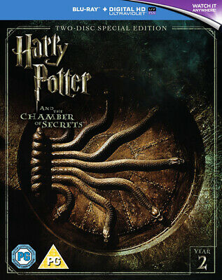 Harry Potter and the Chamber of Secrets DVD (2016) Daniel Radcliffe, Columbus
