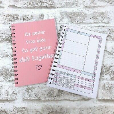 Food Diary SLIMMING WORLD COMPATIBLE Weight Loss Journal Planner - BK 2 - AB/G&P