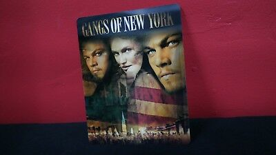 GANGS OF NEW YORK - 3D Lenticular Magnet / Magnetic Cover for BLURAY STEELBOOK