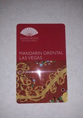 Room Key from The Mandarin Oriental Las Vegas (Hotel now CLOSED)