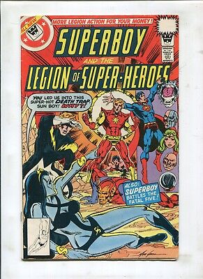 Superboy & The Legion Of Superheroes #246 - Whitman Variant Cover! - (5.0) 1978