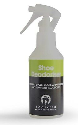 Footwear Deodorant Freshener Deodorizer Spray Shoe Trainer Boot Anti Fungal UK
