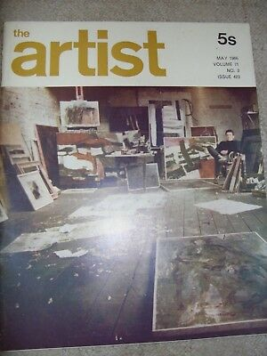 The Artist Vintage Magazine May 1966 Volume 71 no 3 issue 423