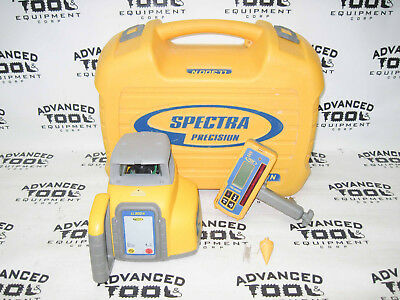 Trimble Spectra Precision LL300N Automatic Rotary Laser Level w/ HL450 Receiver
