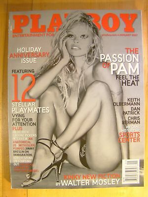 Original Playboy Magazine January 2007 Pamela Anderson The Passion of Pam