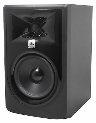 "JBL 305P MkII 5"" 2-Way Powered Studio Reference Monitor Monitoring Speaker"